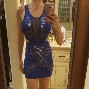 2B Bebe embellished bodycon dress